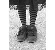 Fancy feet Photographic Print
