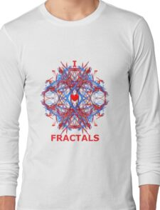I Love Fractals Tee Long Sleeve T-Shirt