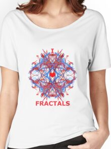 I Love Fractals Tee Women's Relaxed Fit T-Shirt