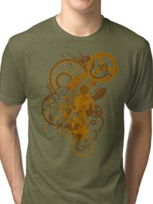 Steampunk Bunny Tri-blend T-Shirt