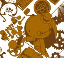 Steampunk Bunny Sticker
