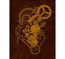 Steampunk Bunny Photographic Print