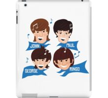 Fab Four Lads iPad Case/Skin
