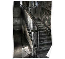 Stairs in the shadows Poster