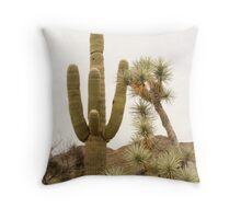 Along Alamo Road, AZ Throw Pillow