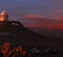 Space Telescope - Fantastic Panoramic shot of telescopes searching space by verypeculiar