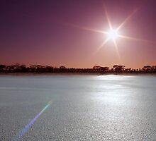 Lake Magic Sunrise I by Mark Moskvitch