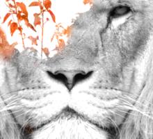 If I roar Sticker