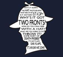 Sherlock's Hat Rant - Dark by jlechuga