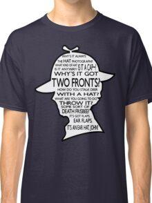 Sherlock's Hat Rant - Dark Classic T-Shirt