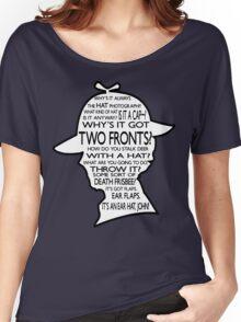 Sherlock's Hat Rant - Dark Women's Relaxed Fit T-Shirt