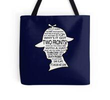 Sherlock's Hat Rant - Dark Tote Bag