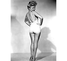 Betty Grable Pin-Up Photographic Print