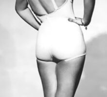 Betty Grable Pin-Up Sticker