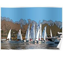 Sailing Team Series Poster