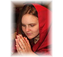 Stephanie's Prayer Photographic Print