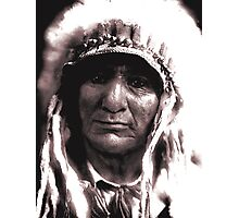 The Proud Chief Photographic Print