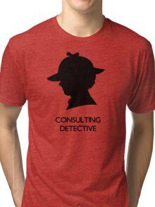 Consulting Detective Sherlock Shirt - Light Tri-blend T-Shirt