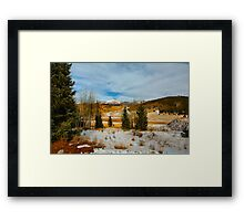 Crisp Winter Day Framed Print