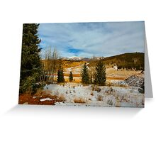 Crisp Winter Day Greeting Card