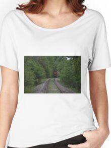 The Tracks Lowell Michigan Women's Relaxed Fit T-Shirt