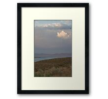 Mono Lake Sunset Framed Print