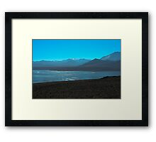 Mono Lake and Sierra Nevada Framed Print