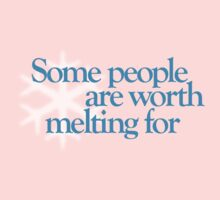 Frozen - Some people are worth melting for - Kid's, Adult tees, mugs & more Kids Clothes