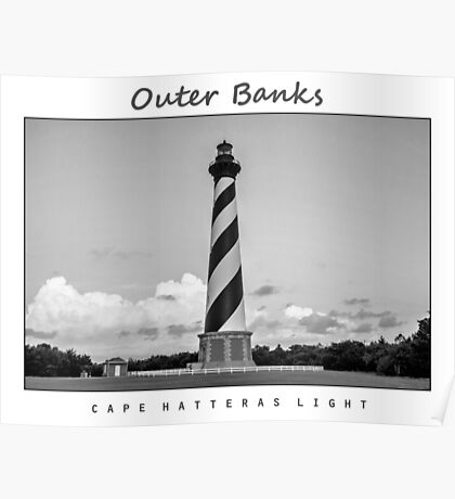 Cape Hatteras Light - Outer Banks. Poster