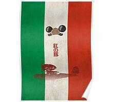 Ghibli Minimalist 'Porco Rosso' Poster