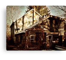 Alligerville Blacksmith Canvas Print