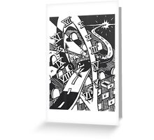 Highway of Time Greeting Card