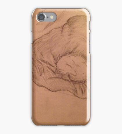 Sleepy werewolves iPhone Case/Skin