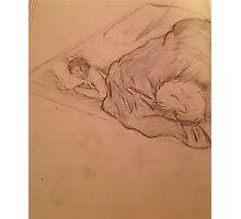 Sleepy werewolves Photographic Print