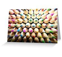 Pencils Greeting Card