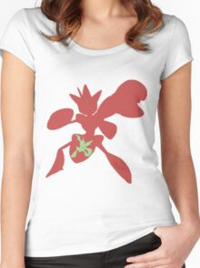 The Bug with Swords Women's Fitted Scoop T-Shirt