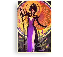 the witch of the wilds Canvas Print