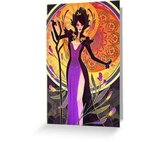 the witch of the wilds Greeting Card