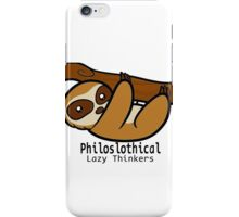Philoslothical iPhone Case/Skin