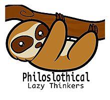 Philoslothical Photographic Print
