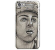 Gregory Campbell - Boston Bruins Hockey Portrait iPhone Case/Skin