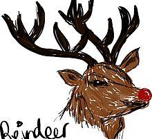 Reindeer by Melissa Williams
