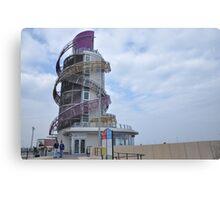 Redcar's Vertical Pier Canvas Print