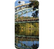 Brattleboro bridge iPhone Case/Skin