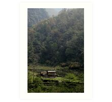 A quiet place- Nepal Art Print