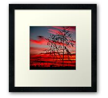 Templestowe Sunset Framed Print