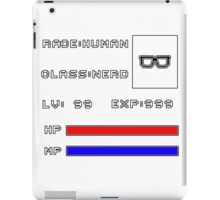 RolePlay Nerd Stats iPad Case/Skin