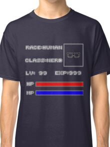 RolePlay Nerd Stats Classic T-Shirt