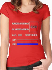 RolePlay Nerd Stats Women's Fitted Scoop T-Shirt