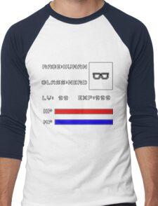 RolePlay Nerd Stats Men's Baseball ¾ T-Shirt